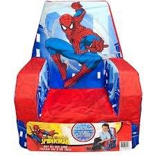 Marshmallow Fun Furniture High Back Chair, Spider-Man by Marshmallow Fun