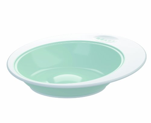 BEABA Ellipse Deep Plate, Mint - 1