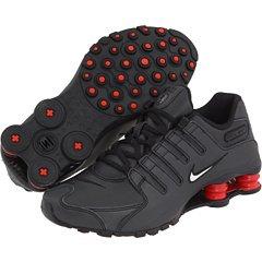 Nike Shox NZ White Grey Varsity Red