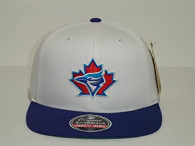 MLB Toronto Blue Jays White 2 Tone Retro snapback Cap Old School
