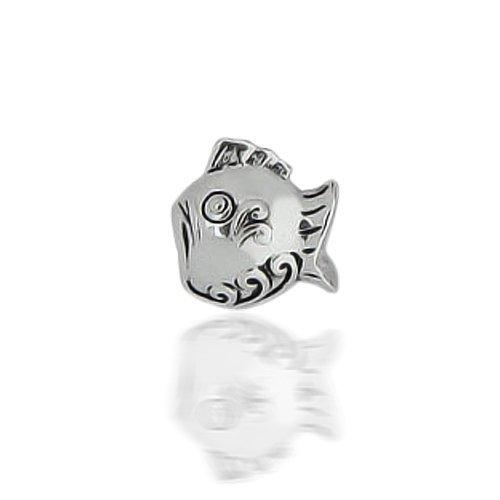 Bling Jewelry Pisces Zodiac Fish Bead 925 Silver Animal Charm Fits Pandora