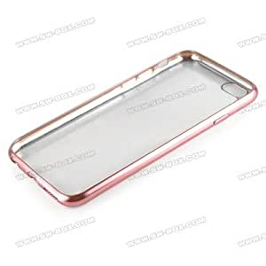 Soft Transparent back cover for samsung galaxy grand /Neo plus/9060/9082 Rose Gold