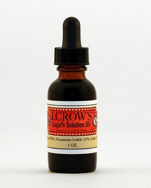 J.CROW'S® Lugol's Solution of Iodine 5%