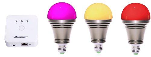Smart Phone Controlled Led Light Bulb,Zigbee Enabled, Via Wi-Fi