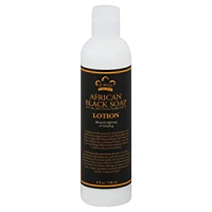 African Black Soap Extract With Oats & Aloe Lotion Nubian Heritage 8 oz Lotion