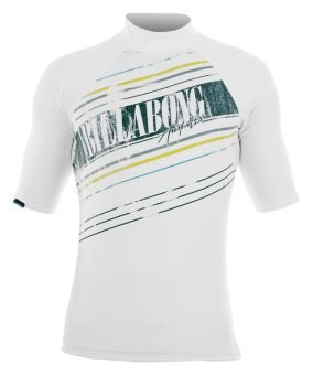 Billabong Banks - Maglietta in Lycra a maniche corte da uomo, Bianco (bianco), XL