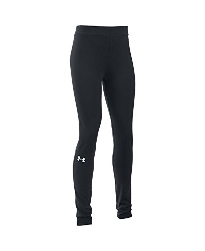 Under Armour Girls' Favorite Campus Legging, Black (001), Youth Small