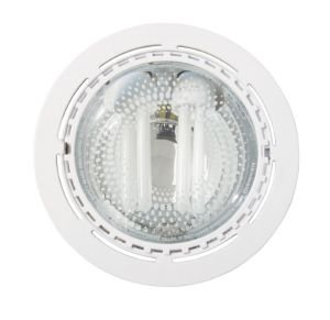 spot downlight blanc pour faux plafonds e27 2x15w luminaires et eclairage. Black Bedroom Furniture Sets. Home Design Ideas