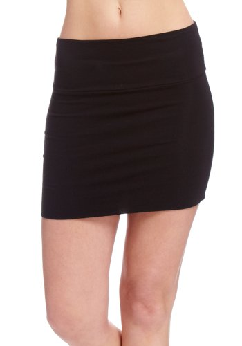 Blk Body Con Skirt-f size  S