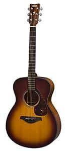 Yamaha FS Series FS700S TBS Acoustic Guitar, Tobacco Brown Sunburst by Yamaha PAC