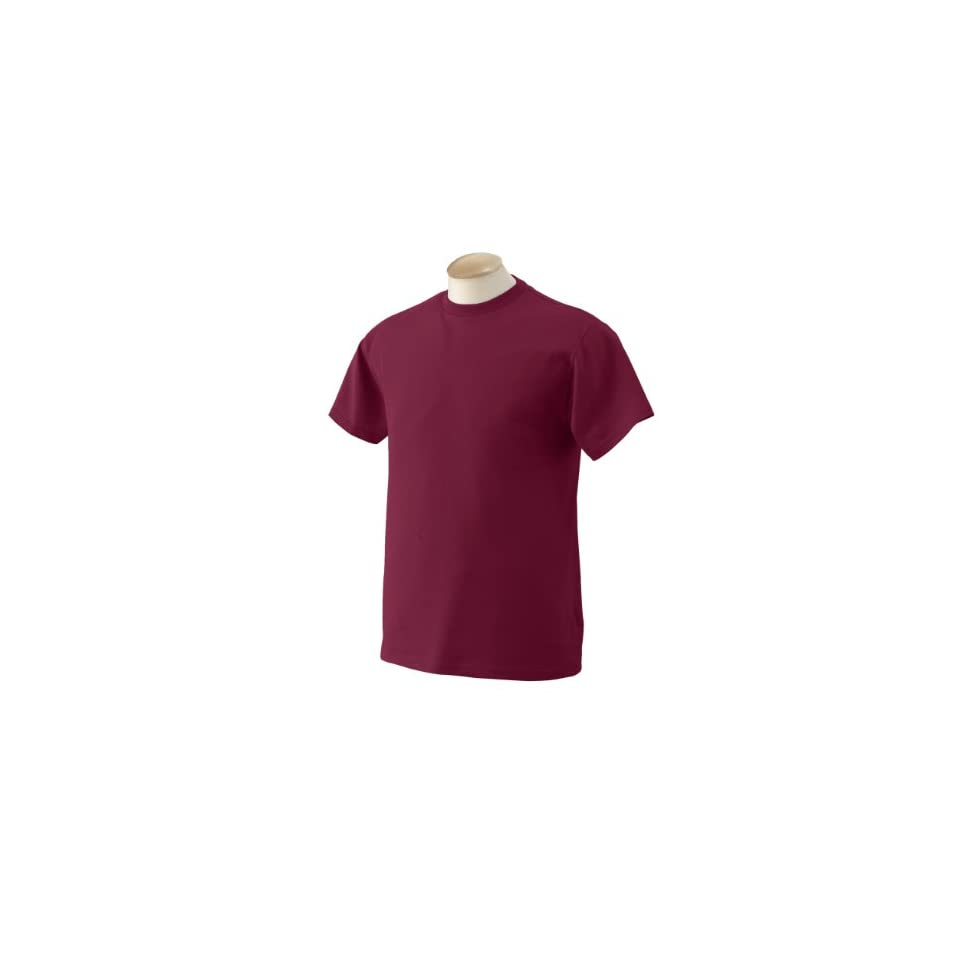 Fruit of the Loom   5.6 oz. Heavy Cotton T Shirt  S,BURGUNDY [Apparel]