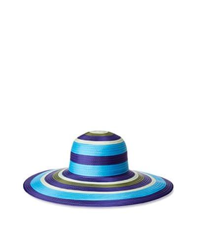 Giovannio Women's Braid Brim Swinger Hat, Purple