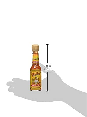 Cholula Original Mexican Hot Sauce with Wooden Stopper Top by Cholula