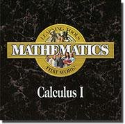 Learning Tools That Work! Mathematics, Calculus I