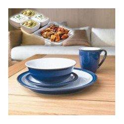 Denby - Imperial Blue - 16 Piece Dinner Set 16 Piece Set. As shown