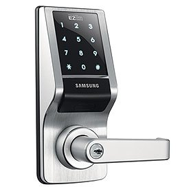 samsung shs 7120 keypad door lock new access control keypads camera photo. Black Bedroom Furniture Sets. Home Design Ideas