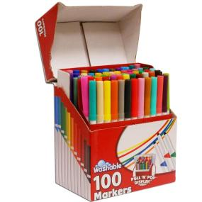 RoseArt SuperTip Assorted Color Washable Markers