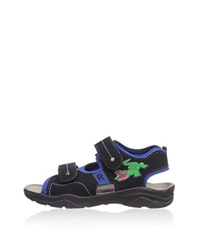 Ricosta Sandalo Flat [Blu Scuro]