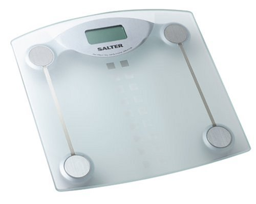 Cheap Salter 9986 Electronic Etched Glass Bathroom Scale (B0000D14NB)