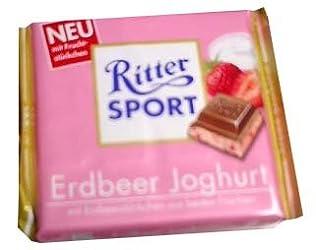 Ritter Sport Strawberry Yogurt Chocolate, 100g