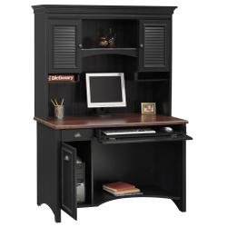 Buy Low Price Comfortable Computer Desk and Hutch – Bush Office Furniture – OFFPKG-39 (B000GBM1N2)
