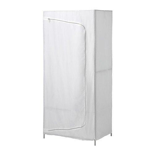 IKEA-BREIM-Kleiderschrank-in-wei-aus-Stoff-80x55x180cm