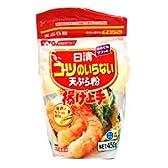 日清フーズ コツのいらない天ぷら粉 揚げ上手 チャック付  450g
