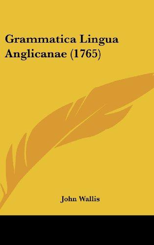 Grammatica Lingua Anglicanae (1765)