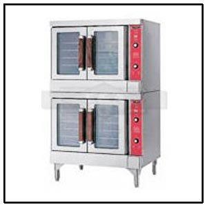 Vulcan Double Deck Gas Convection Oven