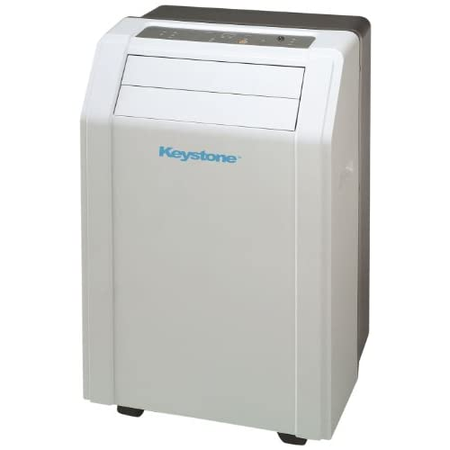 Keystone KSTAP12A 12,000 BTU 115 Volt Portable Air Conditioner with Follow Me LCD Remote Control