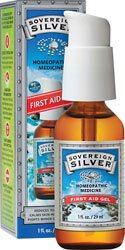 Sovereign Silver, 1 Oz. First Aid Gel