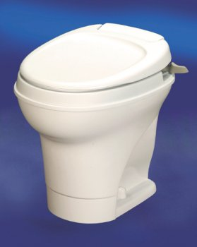 Thetford 31668 Aqua Magic V Parchment High Hand Flush