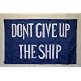 Commodore Perry 3ft x 5ft Polyester flag - Historical 3x5 Poly - Dont give up the ship 3 x 5