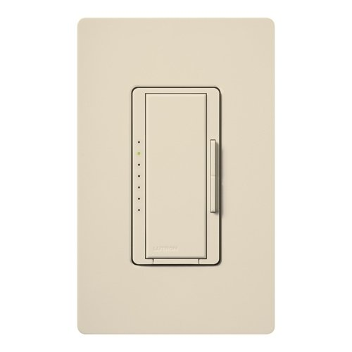 150W Max. - Wireless 150W Cfl/Led Or 600W Incan/Halogen Dimmer - Multi-Location - Tap And Rocker Switch - Light Almond - 120 Volt - Lutron Maestro Mrf2-6Cl-La