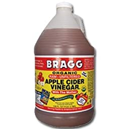 Bragg\'s Apple Cider Vinegar Organic - 4 x 1 gallon
