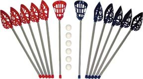 P.E. Senior Lacrosse Set - LC037P by Olympia Sport