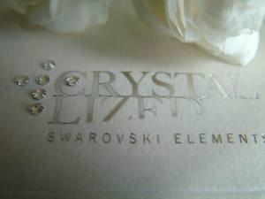 SS9 100 cristalli SWAROVSKI trasparenti 2028-Colla Fix, larghezza 2,6 mm