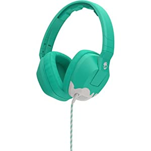 Skullcandy Crusher Headphones with Mic Bunny Teal/Light Gray, One Size
