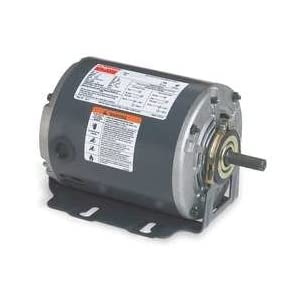 Dayton 6K778 Motor, 1/3 HP, 1725 RPM, 115 V, 48Y, ODP: Electric Motors