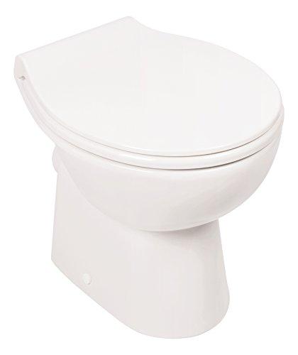 Stand-WC | Spülrandlos | Inklusive WC-Sitz | Tiefspüler |...