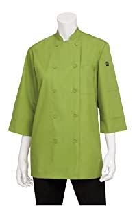 Chef Works JLCL-LIM-XL Basic 3/4 Sleeve Chef Coat