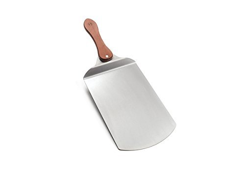 Outset QZ10 Stainless-Steel Pizza Peel With Rosewood Handle