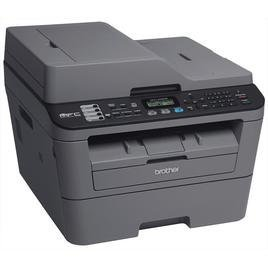 Brother MFC-L2700DW Multifunzione laser monocromatico compatto con stampa in fronte/retro, Nero