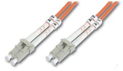 DK-2633-03 – Kabel – Netzwerk Patchkabel 3m – Glasfaser (LWL) Multimode-Faser – Orange