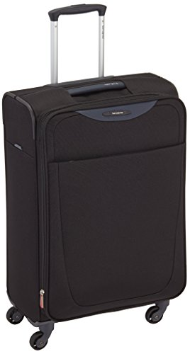 Samsonite Base Hits Spinner 66/24 Exp Valigie, 66 cm, 63 L, Nero (Nero)