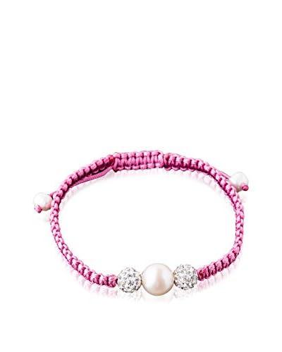 Ana Pearls Pulsera  Rosa