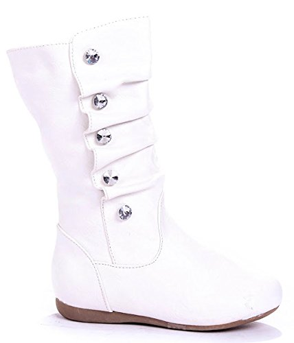 Toddler White Boots