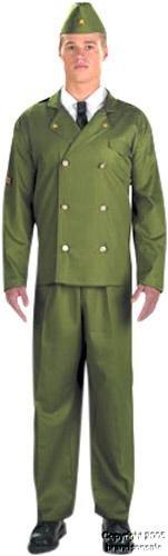 Adult Men's WWII Lieutenant Halloween Costume