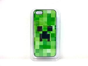 MinecraftマインクラフトiPhone 5 ケース カバー Creeper (ブラック)
