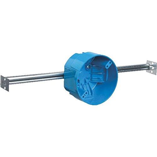 Carlon B620K Ceiling Fan Box, New Work, 4-Inch Diameter By 2-1/4-Inch Depth, Blue